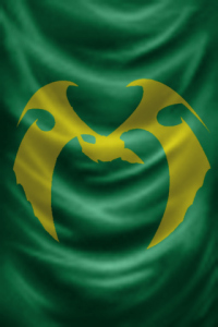 """IEN Flag by John """"Paladine"""" Baxter.  Used by permission."""