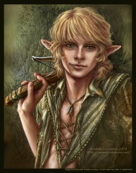Shaundar Age 60 (A Few Good Elves) Artist: Adele Lorienne.
