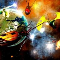 Battle Near Toril Artist: Silverblade the Enchanter
