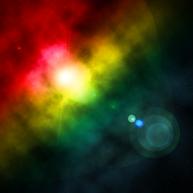 Colour Spray Nebula