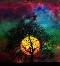 Colour Spray Nebula in Nedethil's Sky