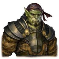Captain Arga of the Blacktusk Mercenaries