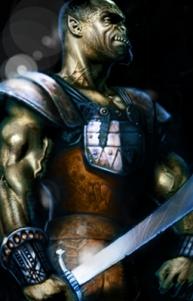 Clan Champion Targ Bloodfist (Bloodaxe)