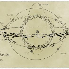 Spiralspace 5041 OC by vtsimz02. Copyright (c) 2014. Used by permission.